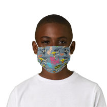 Batman And Robin Action Pattern Kids' Cloth Face Mask