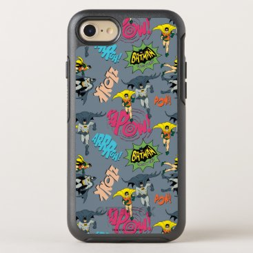 Batman And Robin Action Pattern OtterBox Symmetry iPhone 8/7 Case