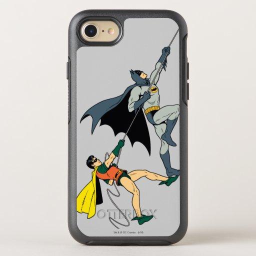 Batman And Robin Climb 2 OtterBox Symmetry iPhone SE/8/7 Case