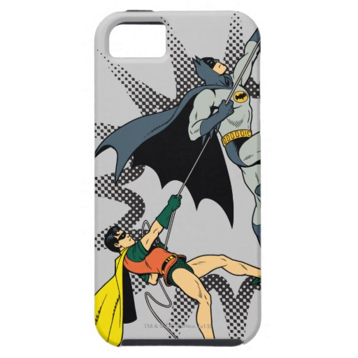 Batman And Robin Climb iPhone SE/5/5s Case