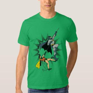 Batman And Robin Climb T-shirt