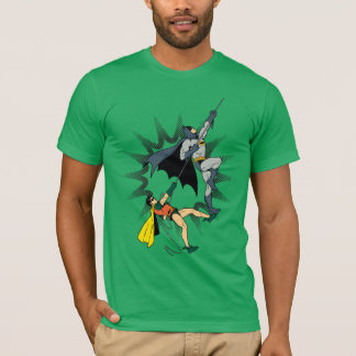 Batman And Robin Climb T-Shirt