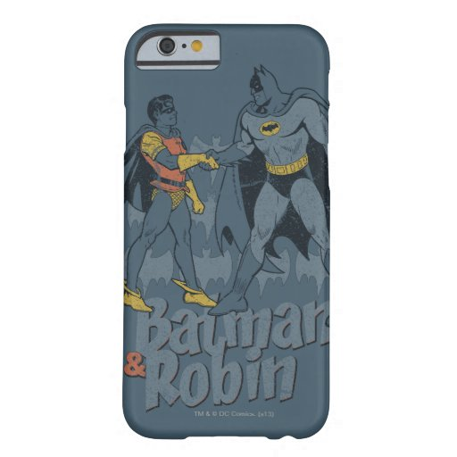 Batman And Robin Distressed Graphic Barely There iPhone 6 Case