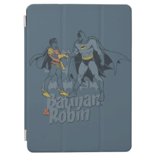 Batman And Robin Distressed Graphic iPad Air Cover