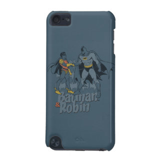 Batman And Robin Distressed Graphic iPod Touch (5th Generation) Cover