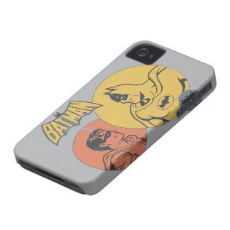 Batman And Robin Graphic - Distressed iPhone 4 Cover
