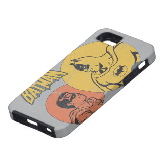 Batman And Robin Graphic - Distressed iPhone SE/5/5s Case