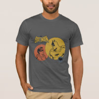 Batman And Robin Graphic - Distressed T-Shirt