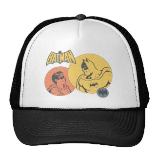 Batman And Robin Graphic - Distressed Trucker Hat
