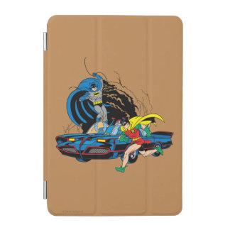Batman And Robin In Batcave iPad Mini Cover