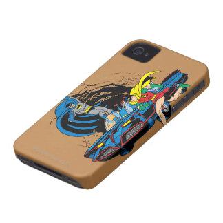 Batman And Robin In Batcave iPhone 4 Case
