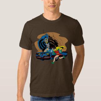 Batman And Robin In Batcave T Shirt