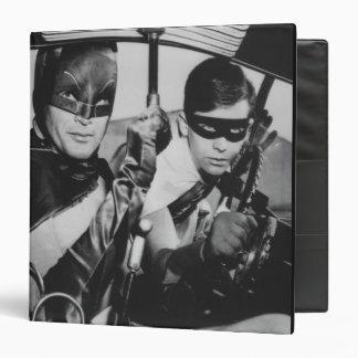 Batman and Robin In Batmobile Vinyl Binders