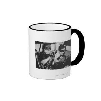 Batman and Robin In Batmobile Mugs