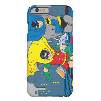 Batman And Robin Running Barely There iPhone 6 Case