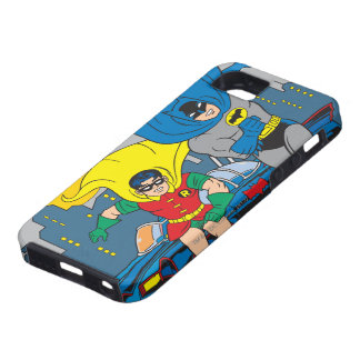 Batman And Robin Running iPhone 5 Cover