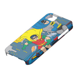 Batman And Robin Running iPhone 5 Case