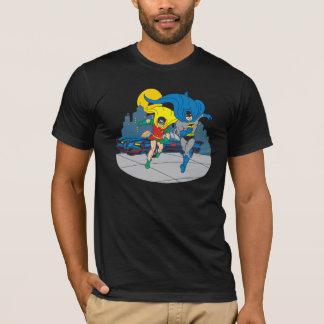 Batman And Robin Running T-Shirt