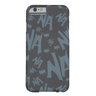 Batman And Robin With Logo Distressed Graphic 2 Barely There iPhone 6 Case