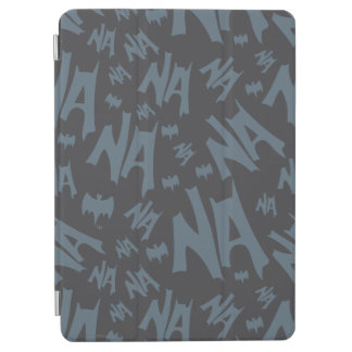 Batman And Robin With Logo Distressed Graphic 2 iPad Air Cover