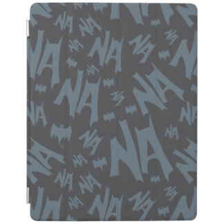 Batman And Robin With Logo Distressed Graphic 2 iPad Smart Cover