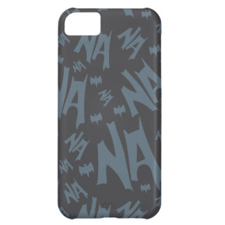 Batman And Robin With Logo Distressed Graphic 2 iPhone 5C Cover