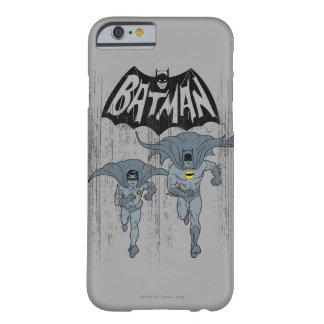 Batman And Robin With Logo Distressed Graphic Barely There iPhone 6 Case