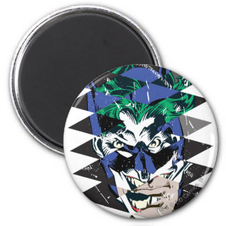 Batman and The Joker Collage 2 Inch Round Magnet
