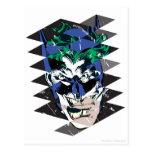 Batman and The Joker Collage Postcard