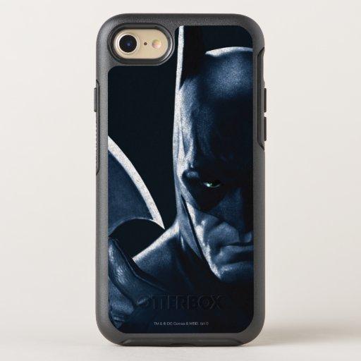 Batman: Arkham Asylum | Batman Closeup OtterBox Symmetry iPhone SE/8/7 Case