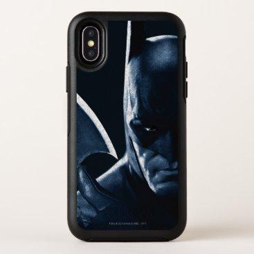 Batman: Arkham Asylum | Batman Closeup OtterBox Symmetry iPhone X Case
