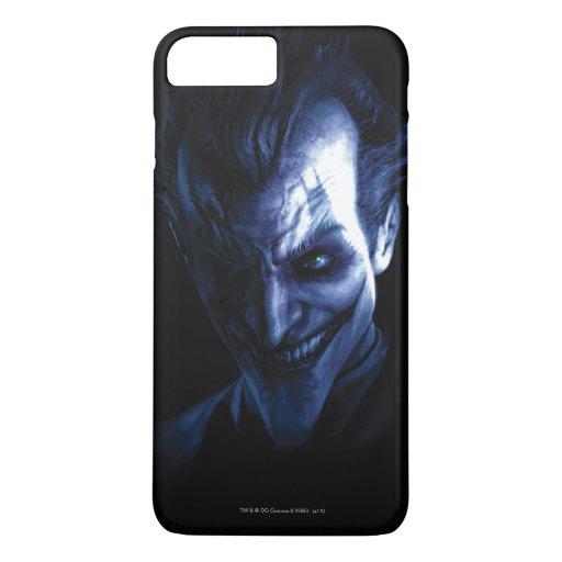 Batman: Arkham Asylum | The Joker In Shadow iPhone 8 Plus/7 Plus Case