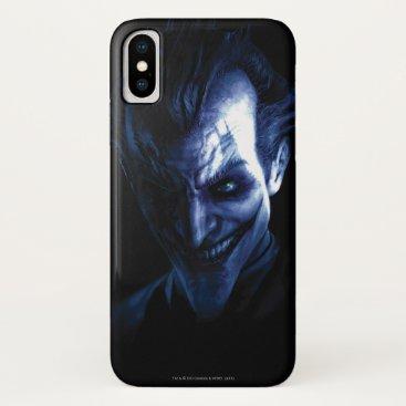 Batman: Arkham Asylum | The Joker In Shadow iPhone X Case