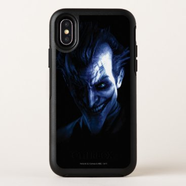 Batman: Arkham Asylum | The Joker In Shadow OtterBox Symmetry iPhone X Case