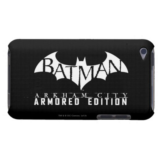 Batman: Arkham City Armored Edition BW iPod Touch Cover