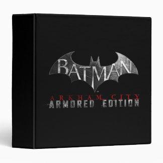 Batman: Arkham City Armored Edition K Binder