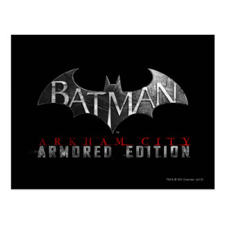 Batman: Arkham City Armored Edition K Postcard