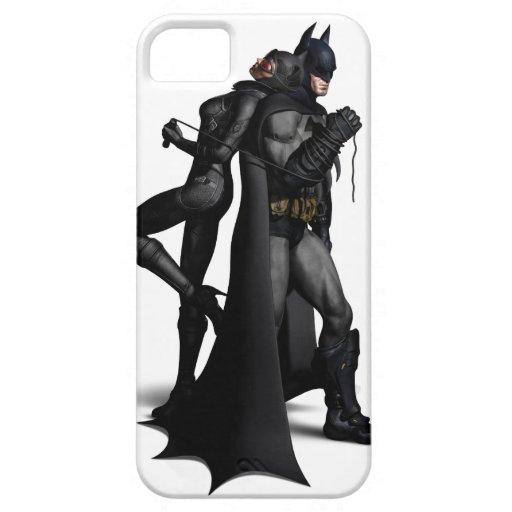 Batman Arkham City   Batman and Catwoman iPhone SE/5/5s Case
