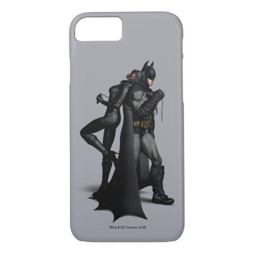 Batman Arkham City | Batman and Catwoman iPhone 8/7 Case