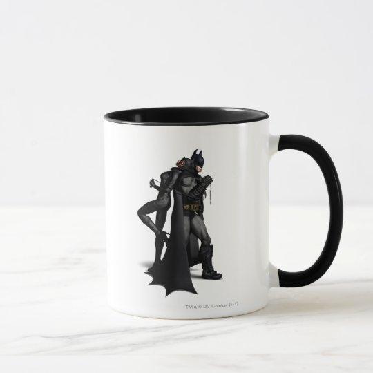 Batman Arkham City   Batman and Catwoman Mug