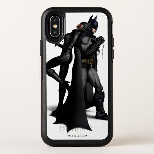 Batman Arkham City | Batman and Catwoman OtterBox Symmetry iPhone X Case
