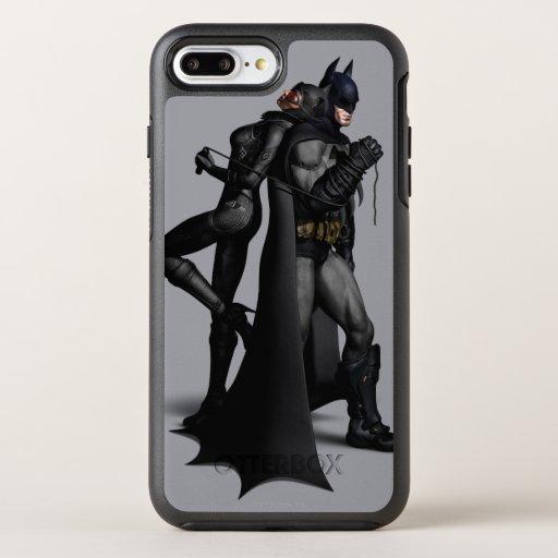 Batman Arkham City | Batman and Catwoman OtterBox Symmetry iPhone 8 Plus/7 Plus Case