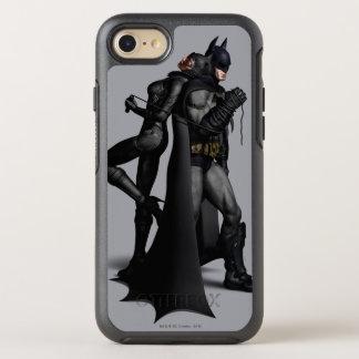 Batman Arkham City | Batman and Catwoman OtterBox Symmetry iPhone 8/7 Case