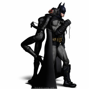 Batman Arkham City   Batman and Catwoman Statuette