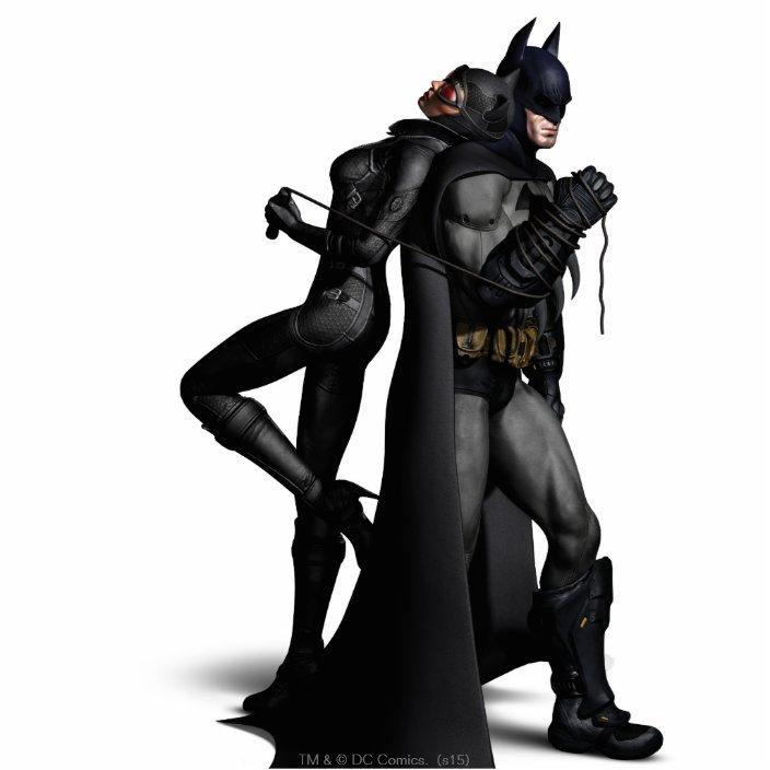 Batman Arkham City Batman And Catwoman Statuette Zazzle Com
