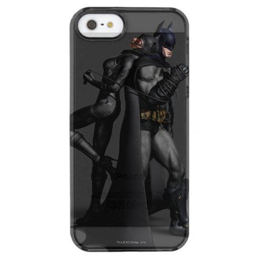 Batman Arkham City | Batman and Catwoman Clear iPhone SE/5/5s Case