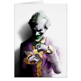 Batman Arkham City   Joker Card
