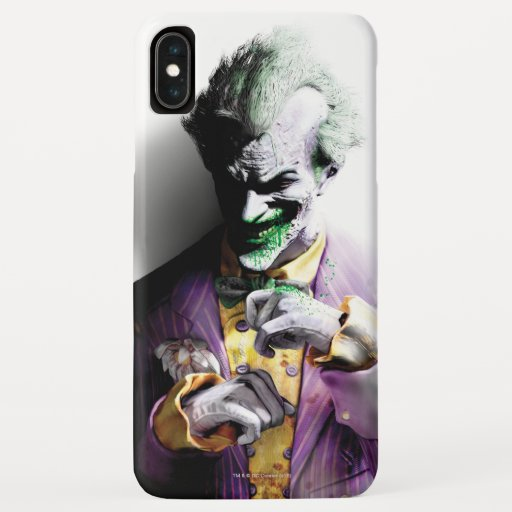Batman Arkham City | Joker iPhone XS Max Case