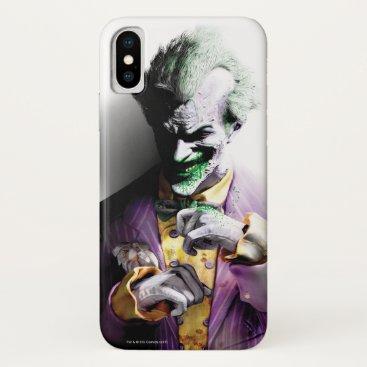 Batman Arkham City | Joker iPhone X Case