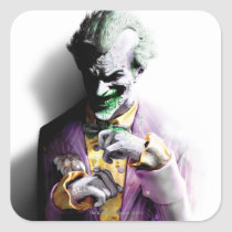 batman, arkham city, arkham asylum, dc comics, gotham city, video game, joker, harvey dent, harley quinn, hugo strange, catwoman, penguin, riddler, rocksteady studios, Sticker with custom graphic design